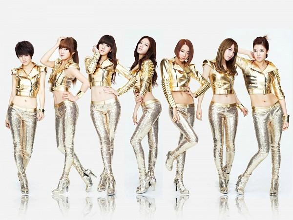Tags: K-Pop, Rainbow, Oh Seungah, Noeul, Jung Yoonhye, Go Woori, Kim Jaekyung, Kim Jisook, Cho Hyunyoung, Wallpaper