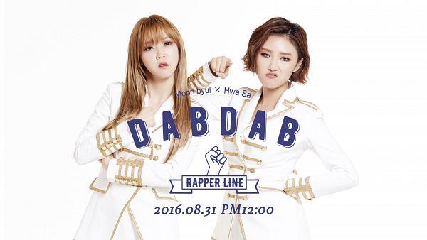 Tags: K-Pop, Mamamoo, Rapper Line, Moonbyul, Hwasa, HD Wallpaper, Wallpaper