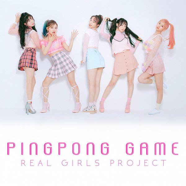 Tags: K-Pop, Real Girls Project, Teramoto Yukika, Kim Sori, Lee Jeewon, Lee Suji, Lee Yeeun, Ponytail, Quintet, Group, Hair Buns, Wavy Hair