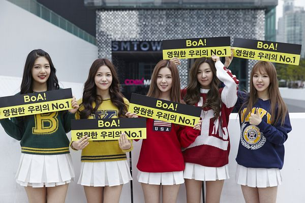 Tags: SM Town, K-Pop, Red Velvet, Wendy, Kang Seul-gi, Irene, Yeri, Joy, Full Group, Quintet, Group, Five Girls