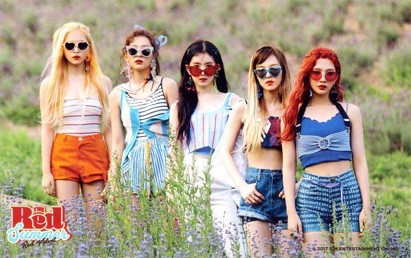 Tags: SM Town, K-Pop, Red Velvet, Irene, Yeri, Joy, Wendy, Kang Seul-gi, Shorts, Text: Album Name, English Text, Text: Company Name