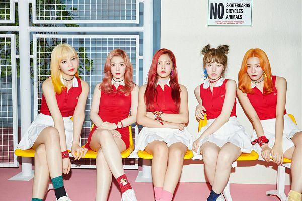 Tags: SM Town, K-Pop, Red Velvet, Russian Roulette (song), Yeri, Joy, Wendy, Kang Seul-gi, Irene, Wallpaper