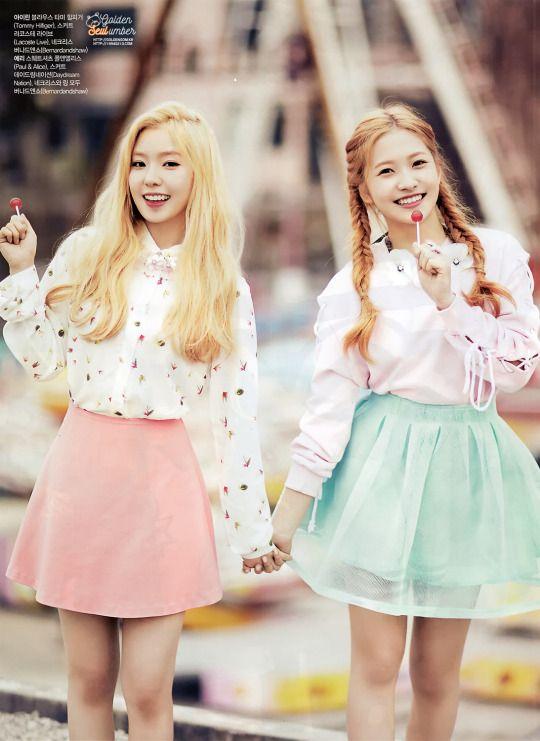 Tags: SM Town, K-Pop, Red Velvet, Joy, Irene, Two Girls, Duo, Scan