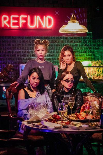 Tags: K-Pop, Refund Sisters, Mamamoo, SSAK3, Fin.K.L, Hwasa, Jessi, Uhm Jung-hwa, Lee Hyori