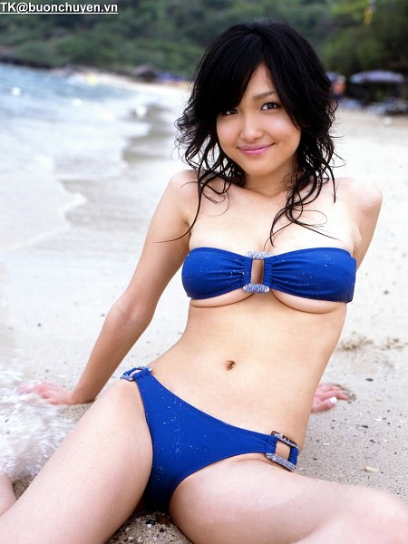 Tags: Gravure Idol, Reon Kadena, Bikini, Suggestive, Navel, Medium Hair