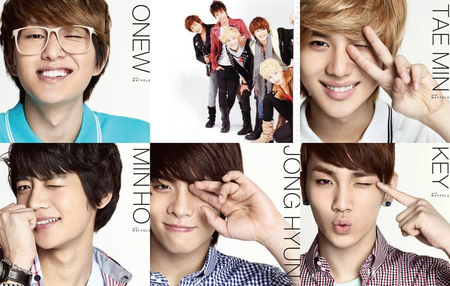 Tags: SHINee, Lee Taemin, Choi Minho, Key (Shinee), Kim Jonghyun, Onew: kpop.asiachan.com/1355