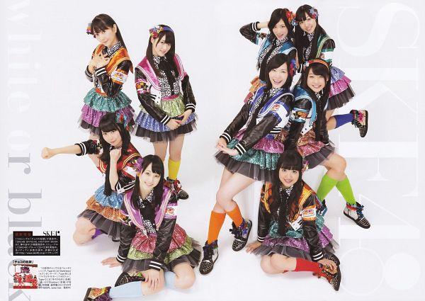 Tags: J-Pop, SKE48, Matsui Jurina, Matsui Rena, Japanese Text, Wallpaper, Person Request, Scan