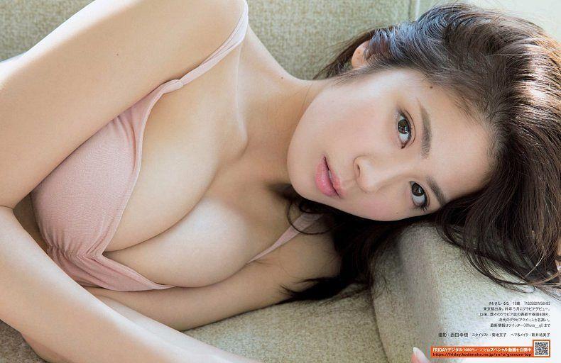 Tags: Gravure Idol, Sawakita Runa, Swimsuit, Midriff, Bikini, Suggestive