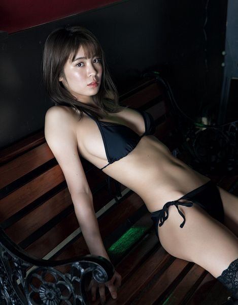 Tags: Gravure Idol, Sawakita Runa, Suggestive, Swimsuit, Midriff, Bikini