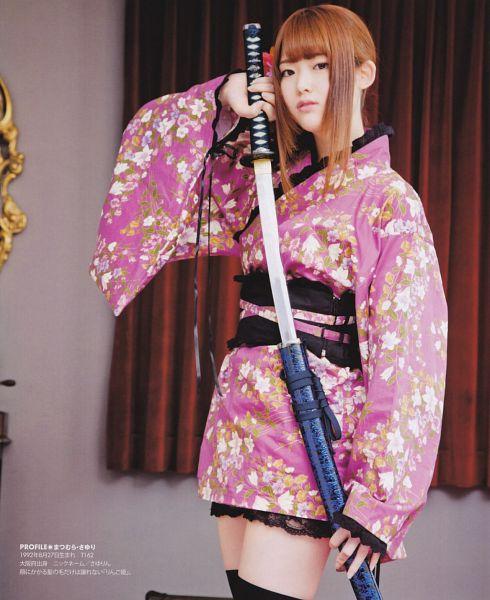 Tags: J-Pop, Nogizaka46, Sayuri Matsumura, Kimono, Traditional Clothes, Sword