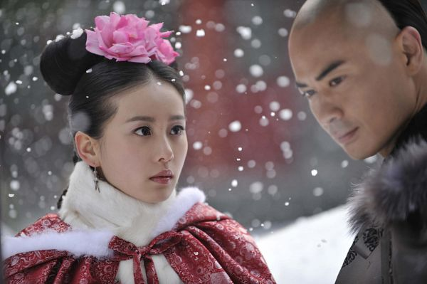Tags: C-Drama, Liu Shishi, Kevin Cheng, Snow, Chinese Clothes, Partially Bald, Traditional Clothes, Wallpaper, Scarlet Heart