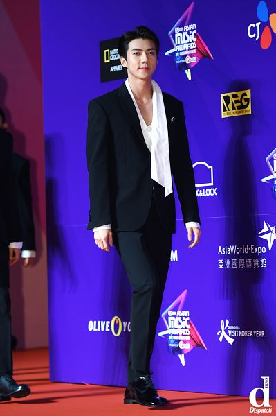 Tags: SM Town, EXO, Sehun, Full Group, Red Carpet, Dispatch