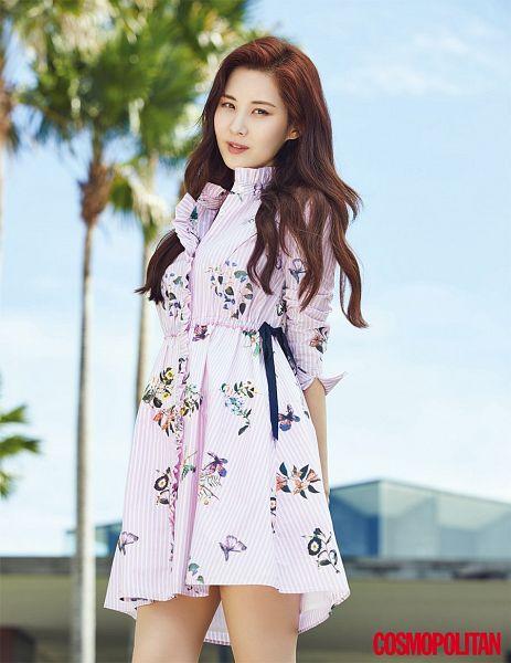 Tags: SM Town, K-Pop, Girls' Generation, Seohyun, Palm Tree, Tree, Cosmopolitan, Magazine Scan