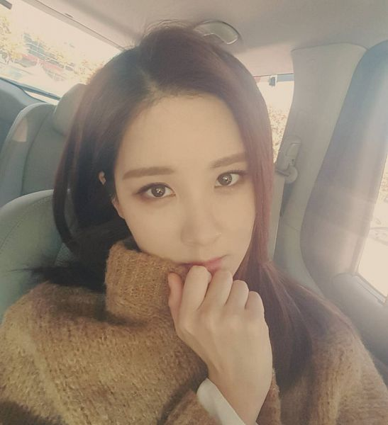 Tags: K-Pop, Girls' Generation, Seohyun, Brown Outerwear, Car