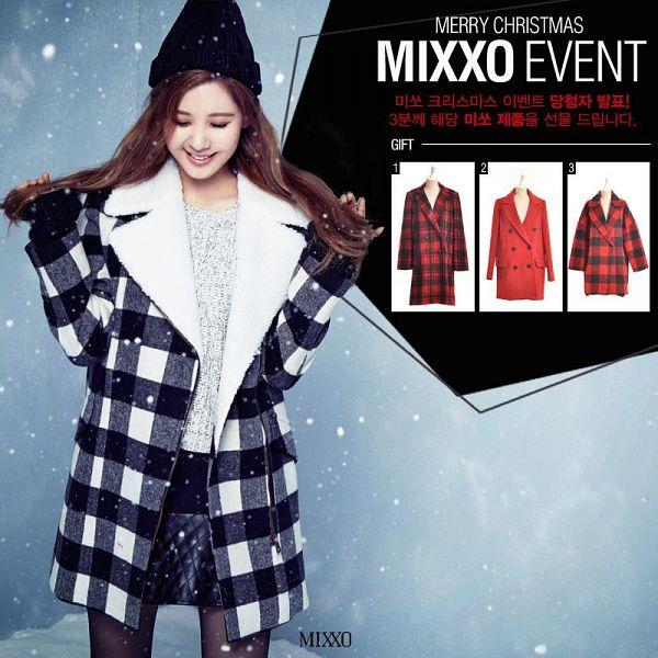 Tags: K-Pop, Girls' Generation, Seohyun, Eyes Closed, Looking Down, Black Headwear, Black Skirt, Sweater, Black Legwear, White Outerwear, Black Jacket, White Jacket
