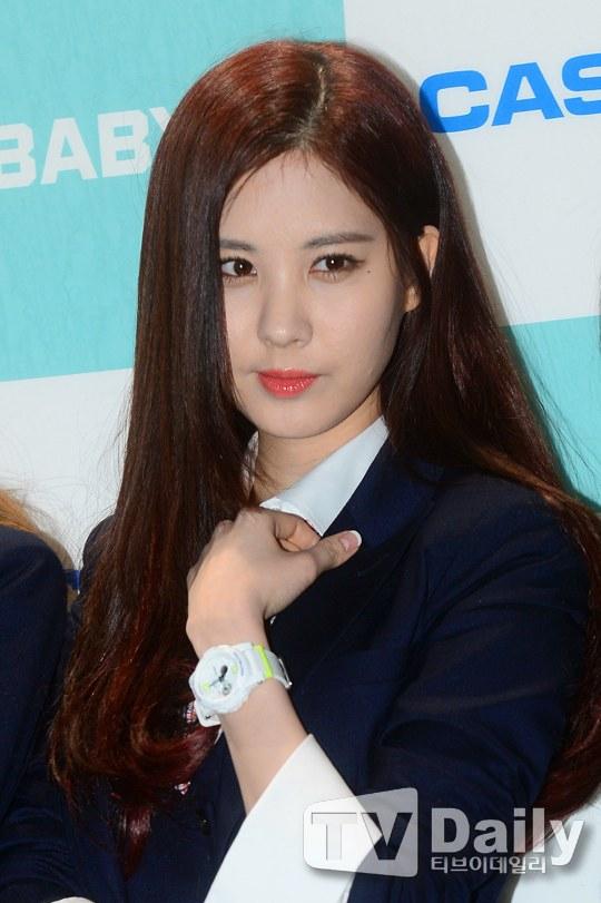 Tags: Girls' Generation, Seohyun, Vest, Black Jacket, Wave, Casio