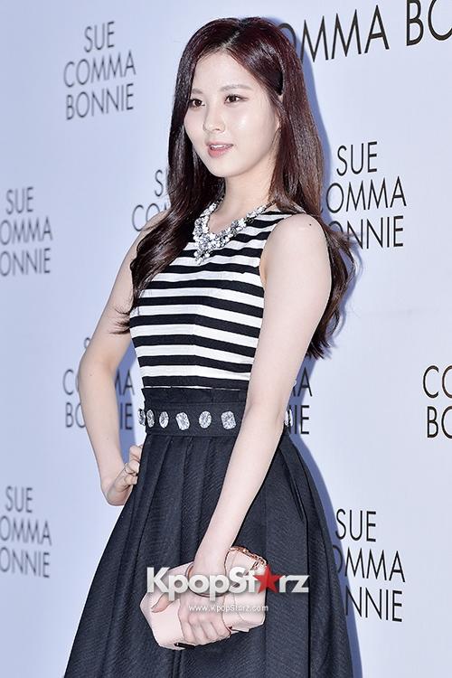 Tags: SM Town, K-Pop, Girls' Generation, Seohyun, Striped Shirt, Black Skirt, Hand On Hip, Skirt, Suecomma Bonnie