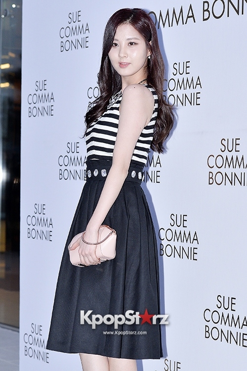 Tags: SM Town, K-Pop, Girls' Generation, Seohyun, Striped Shirt, Black Skirt, Skirt, Suecomma Bonnie