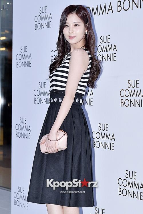Tags: SM Town, K-Pop, Girls' Generation, Seohyun, Black Skirt, Skirt, Striped Shirt, Suecomma Bonnie