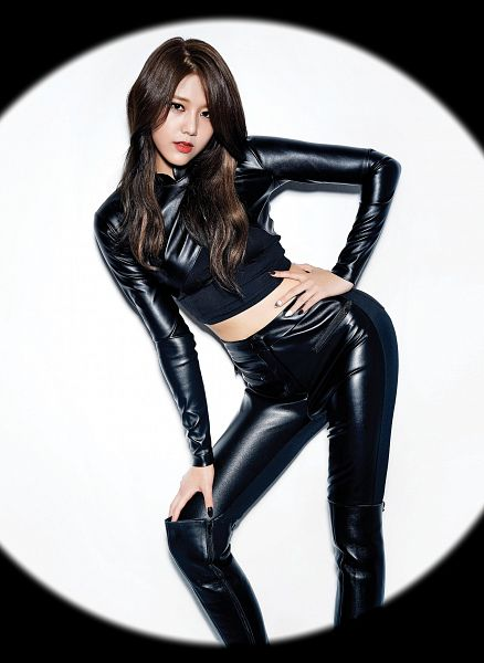 Tags: K-Pop, AOA (Ace Of Angels), Like A Cat, Shin Hyejeong, Black Outfit, Black Dress, Android/iPhone Wallpaper