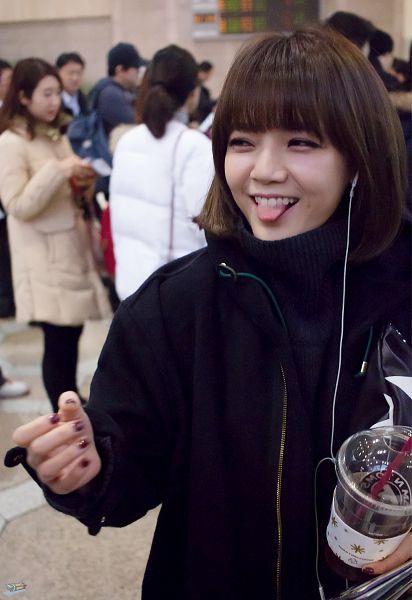 Tags: K-Pop, AOA (Ace Of Angels), Shin Jimin, Tongue, Android/iPhone Wallpaper