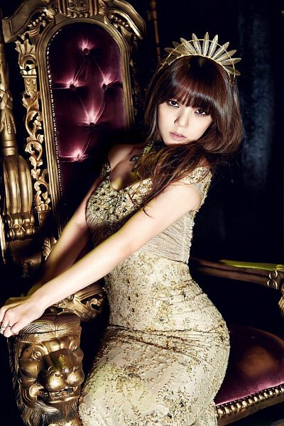 Tags: K-Pop, AOA (Ace Of Angels), Shin Jimin, Throne, Suggestive, Sexy Pose, Android/iPhone Wallpaper