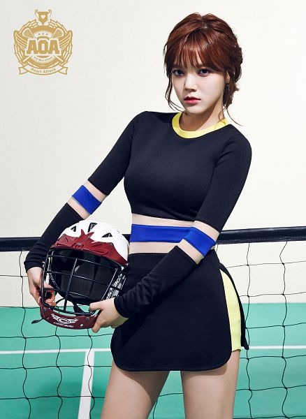Tags: K-Pop, AOA (Ace Of Angels), Heart Attack (AOA), Shin Jimin, Helmet, Hair Up, Black Dress, Black Outfit, Android/iPhone Wallpaper
