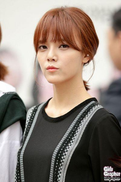 Tags: K-Pop, AOA (Ace Of Angels), Shin Jimin, Black Shirt