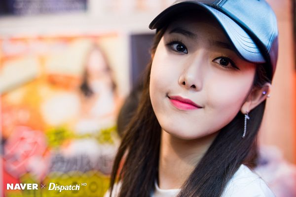 Tags: K-Pop, G-friend, SinB, Make Up, Hat, Dispatch