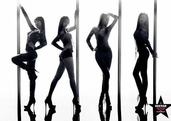 Tags: Starship Entertainment, K-Pop, Sistar, How Dare You (Song), Push Push, Hyorin, Bora, Soyou, Dasom Kim, Hand On Hip, Black Pants, Standing On One Leg