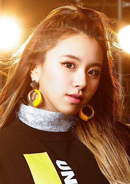 Tags: JYP Entertainment, K-Pop, Twice, Wake Me Up, Son Chaeyoung, Turtleneck, Collar (Clothes), Close Up