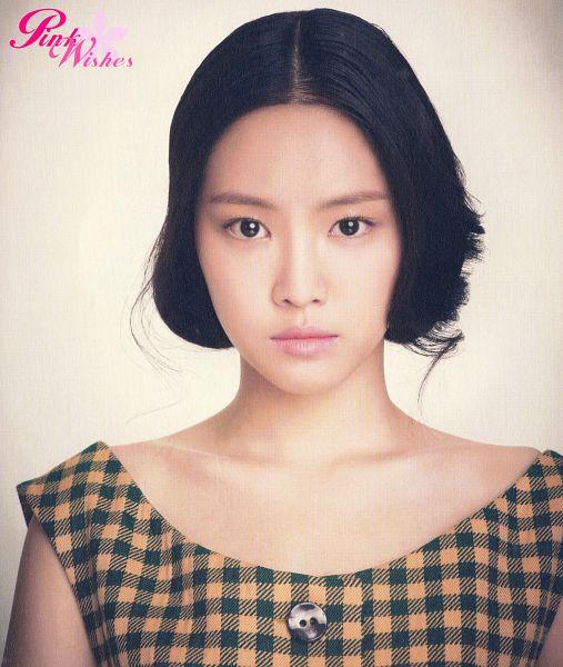 Tags: K-Pop, Apink, Son Na-eun, Checkered, Hair Up, Checkered Shirt, Pink Blossom