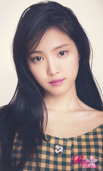 Tags: K-Pop, Apink, Son Na-eun, Checkered, Checkered Shirt, Pink Blossom, Android/iPhone Wallpaper