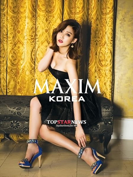 Tags: K-Pop, Nine Muses, Son Sungah, Hand In Hair, Bench, Suggestive, Red Lips, Sitting On Bench, Black Dress, Bare Legs, Blue Footwear, Sleeveless