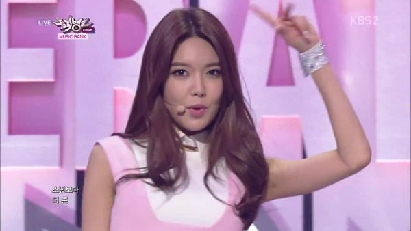Tags: Girls' Generation, Mr.Mr., Sooyoung, Pink Outfit, Hand In Hair, Pink Dress, Wallpaper, Music Bank