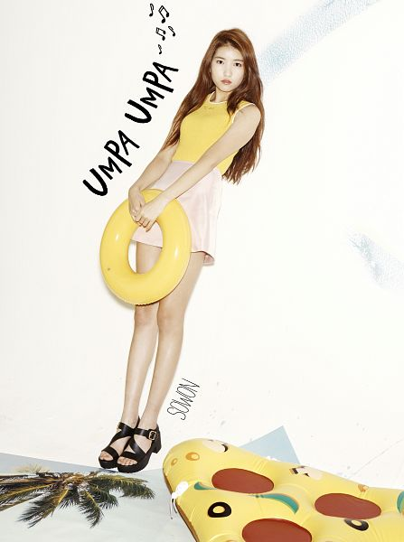 Tags: K-Pop, G-friend, Sowon, Serious, Sandals, Flotation Devices, Full Body, Magazine Scan, Android/iPhone Wallpaper, Oh Boy!, Nuovo