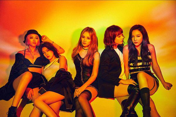 Tags: K-Pop, Spica, Park Narae, Yang Jiwon, Sihyun, Kim Bohyung, Kim Boa, Black Dress, Sleeveless Dress, Sleeveless Shirt, Sleeveless, Choker