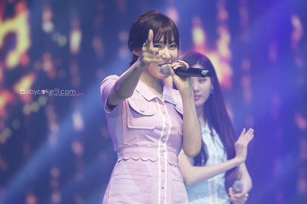 Tags: Girls' Generation, Seohyun, Stephanie Young Hwang, Pink Dress, Pink Outfit, Wallpaper, Wapop K-dream Concert