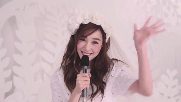 Tags: K-Pop, Girls' Generation, Stephanie Young Hwang, Wave, Light Background, Veil, White Background, VOGUE Girl, Wallpaper