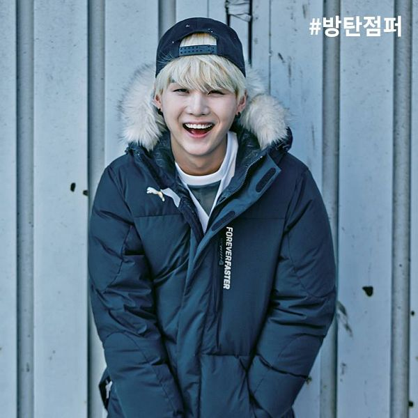Tags: K-Pop, BTS, Suga, Hat, Black Eyes, Fur, Fur Trim, Coat, Puma