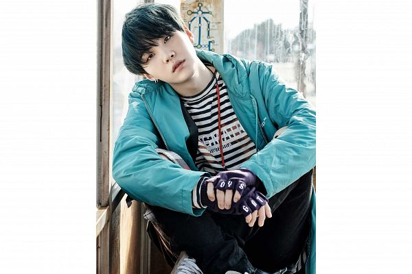 Tags: K-Pop, Bangtan Boys, Suga, You Never Walk Alone, Wallpaper