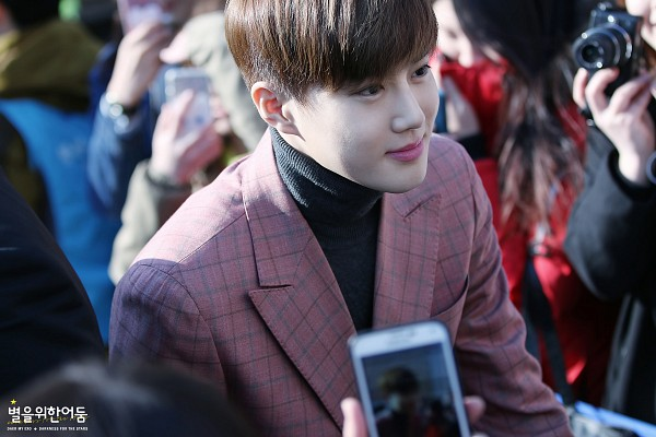 Tags: K-Pop, EXO-K, SM Town, EXO, Suho, Bangs, Suit, Wallpaper