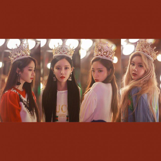 Tags: K-Pop, T-ara, Hyomin, Park Jiyeon, Ham Eunjung, Qri, Headdress, Crown