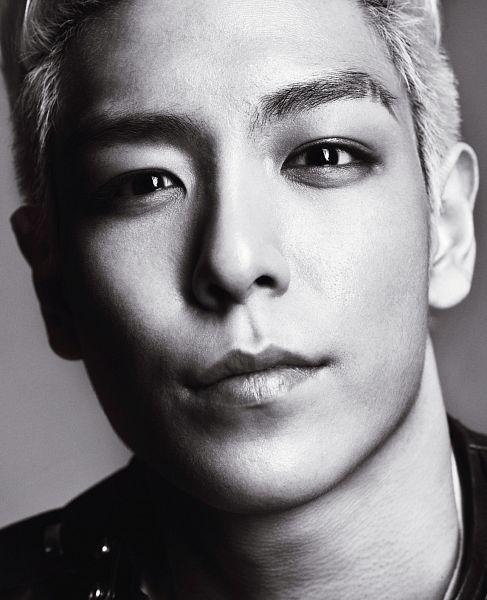 Tags: YG Entertainment, K-Pop, BIGBANG, T.O.P., Close Up, Monochrome, High Cut