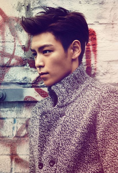 Tags: YG Entertainment, K-Pop, BIGBANG, T.O.P., 1st Look, Android/iPhone Wallpaper, Magazine Scan