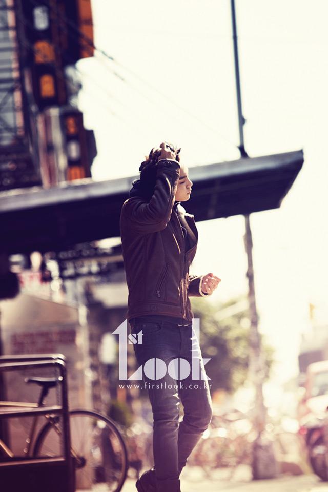 Tags: YG Entertainment, K-Pop, BIGBANG, T.O.P., Text: Magazine Name, 1st Look