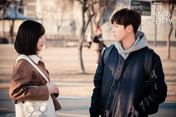 Tags: K-Pop, K-Drama, Red Velvet, Lee Hyun-woo, Joy, Couple, Duo, The Liar and His Lover
