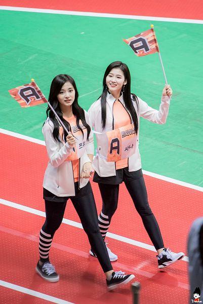 Tags: K-Pop, JYP Entertainment, Twice, Minatozaki Sana, Tzuyu, Idol Star Athletics Championships