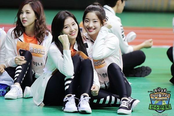 Tags: K-Pop, Twice, JYP Entertainment, Minatozaki Sana, Kim Dahyun, Myoui Mina, Idol Star Athletics Championships