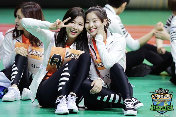 Tags: K-Pop, Twice, JYP Entertainment, Kim Dahyun, Myoui Mina, Minatozaki Sana, Idol Star Athletics Championships